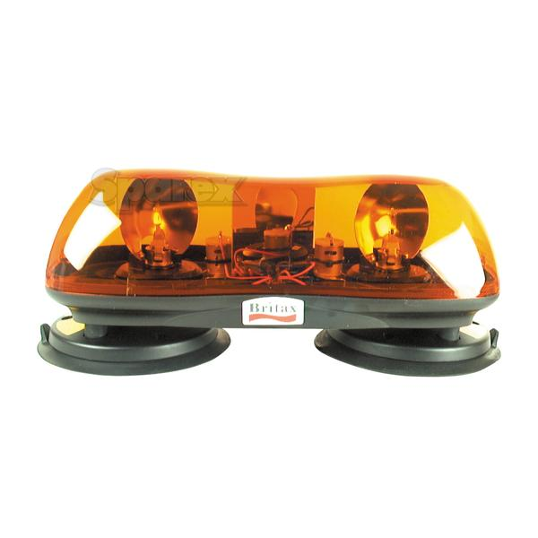 Zwaailichtbalk - Halogen - Magnetisch, Lengte: 420mm, Voltage: 24V.