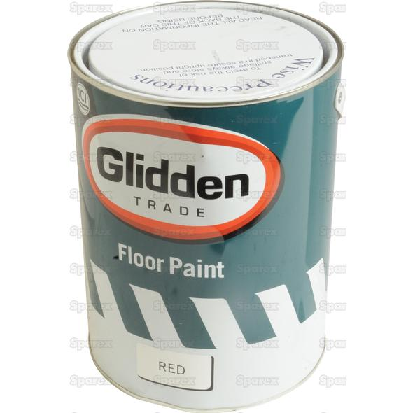5L FLOOR PAINT RED