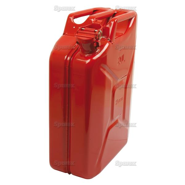 JERRY CAN METAAL ROOD-20l