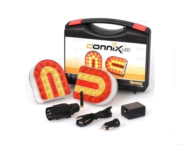 Connix Lichtset - Draadloze, Magnetische Bevestiging