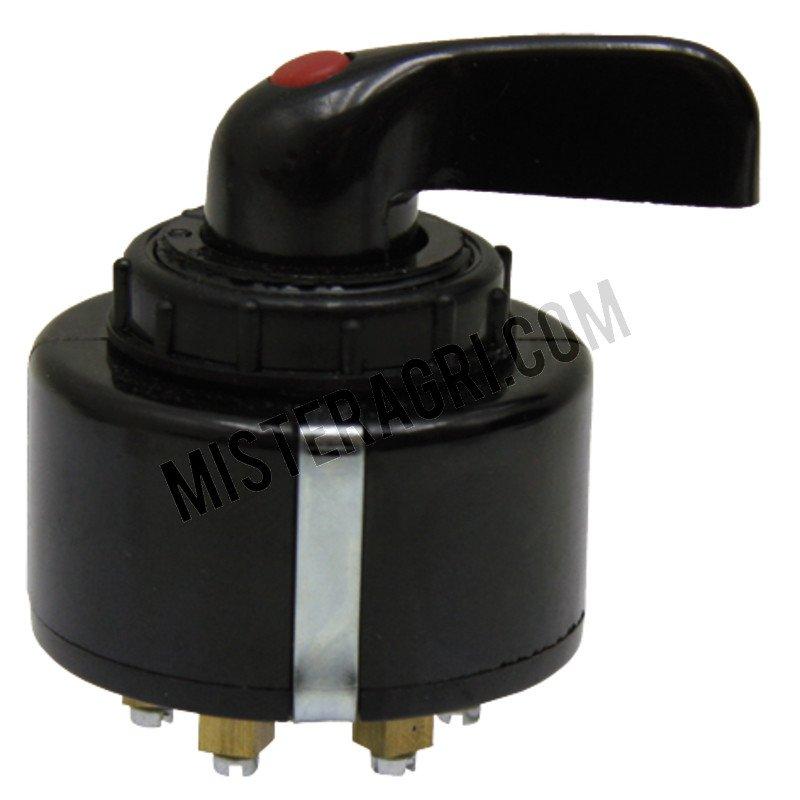 Knipperlichtschakelaar - enkel-circuit, met controlelampje