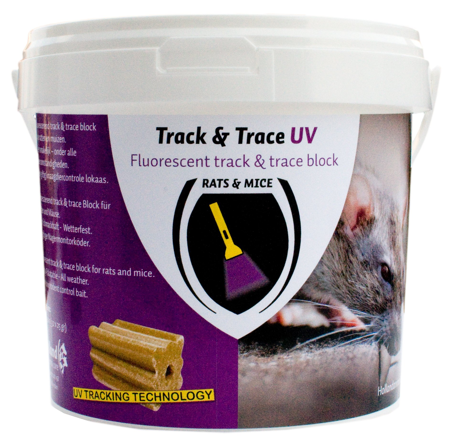 Track and Trace Block Fluo (32x25g)