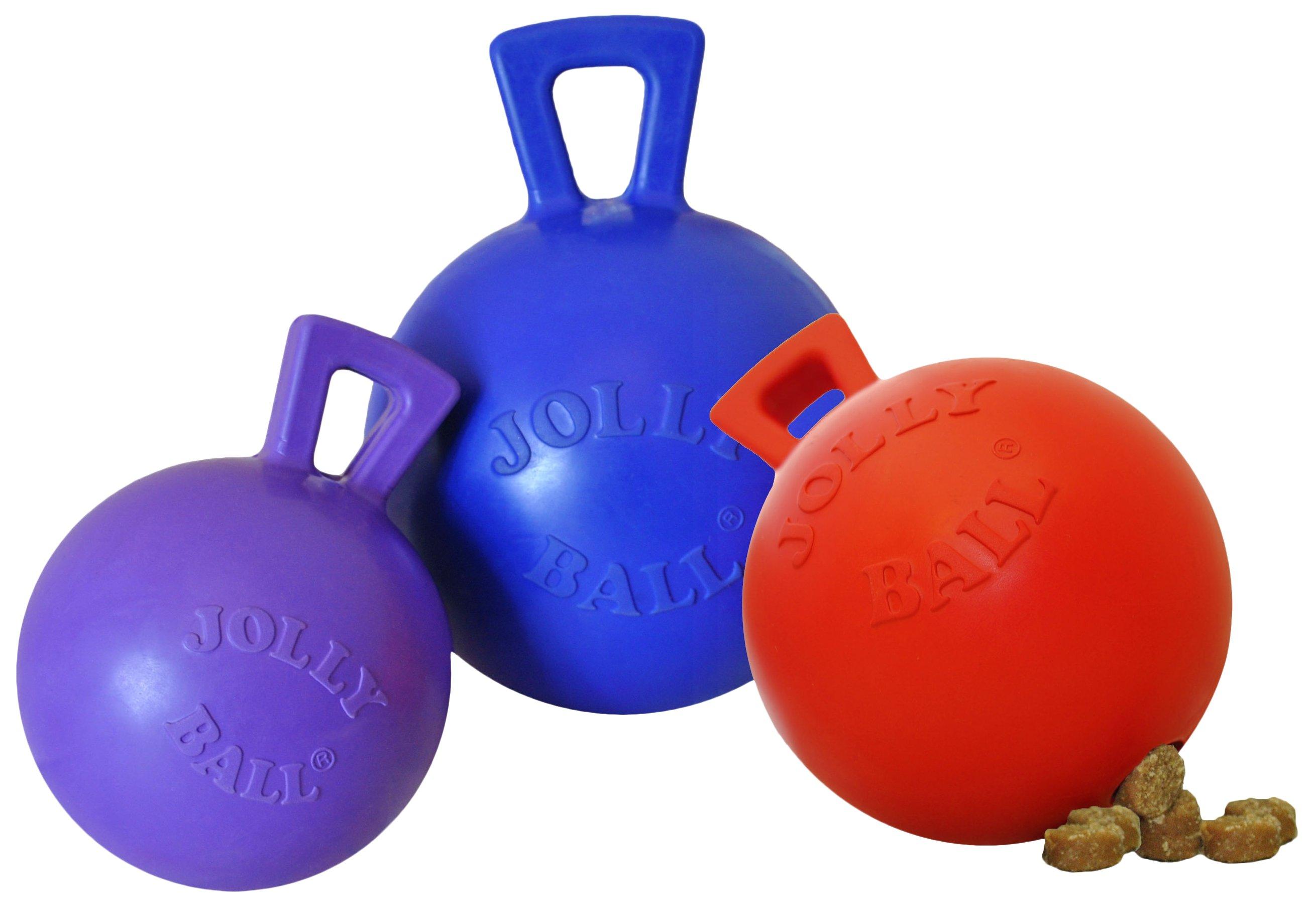 Jolly Tug-n-Toss Mini Traktatie Dispenser 10 cm Rood