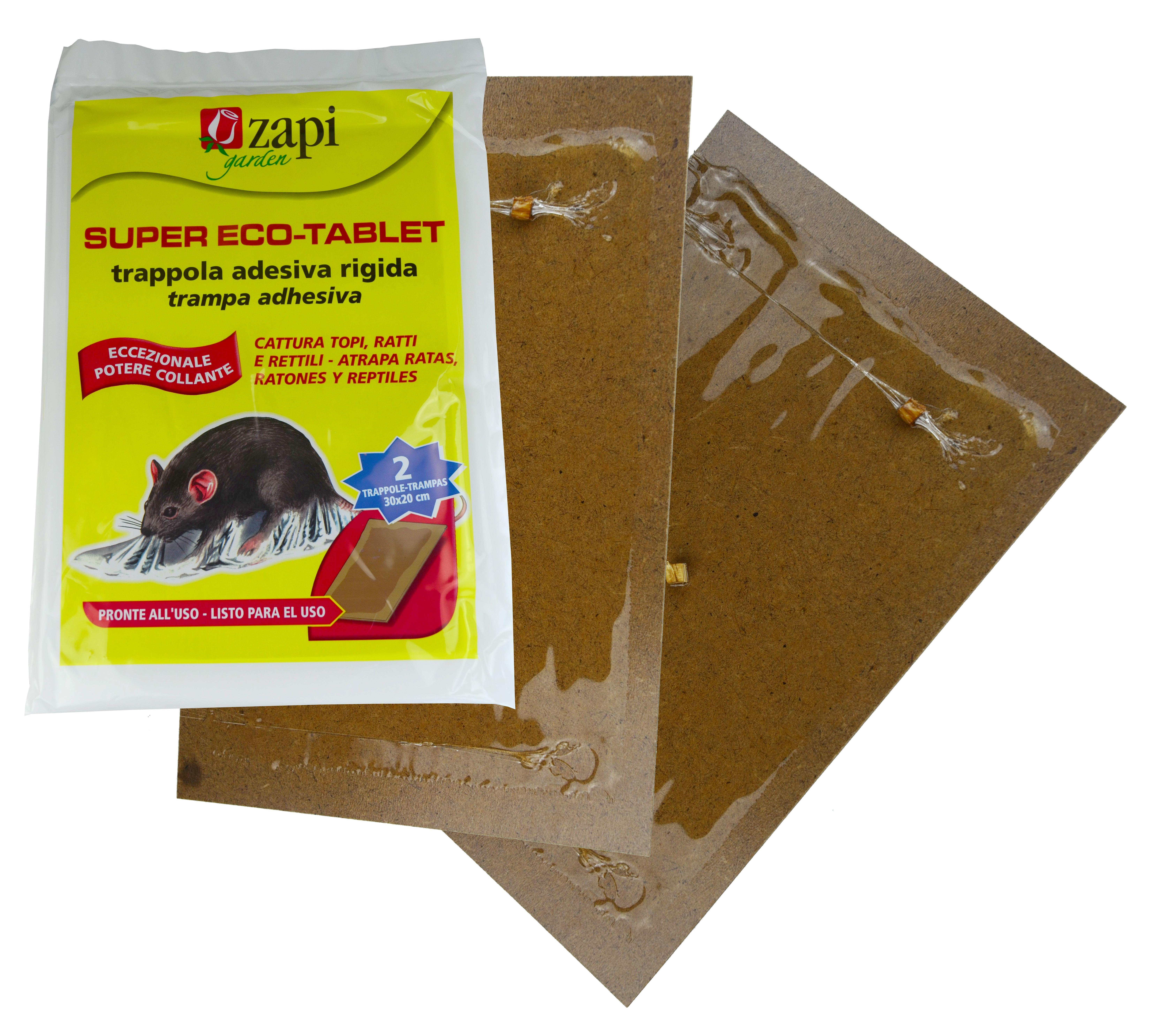 Zapi Super Tablet Rats&Mice sticky trap 28x19cm