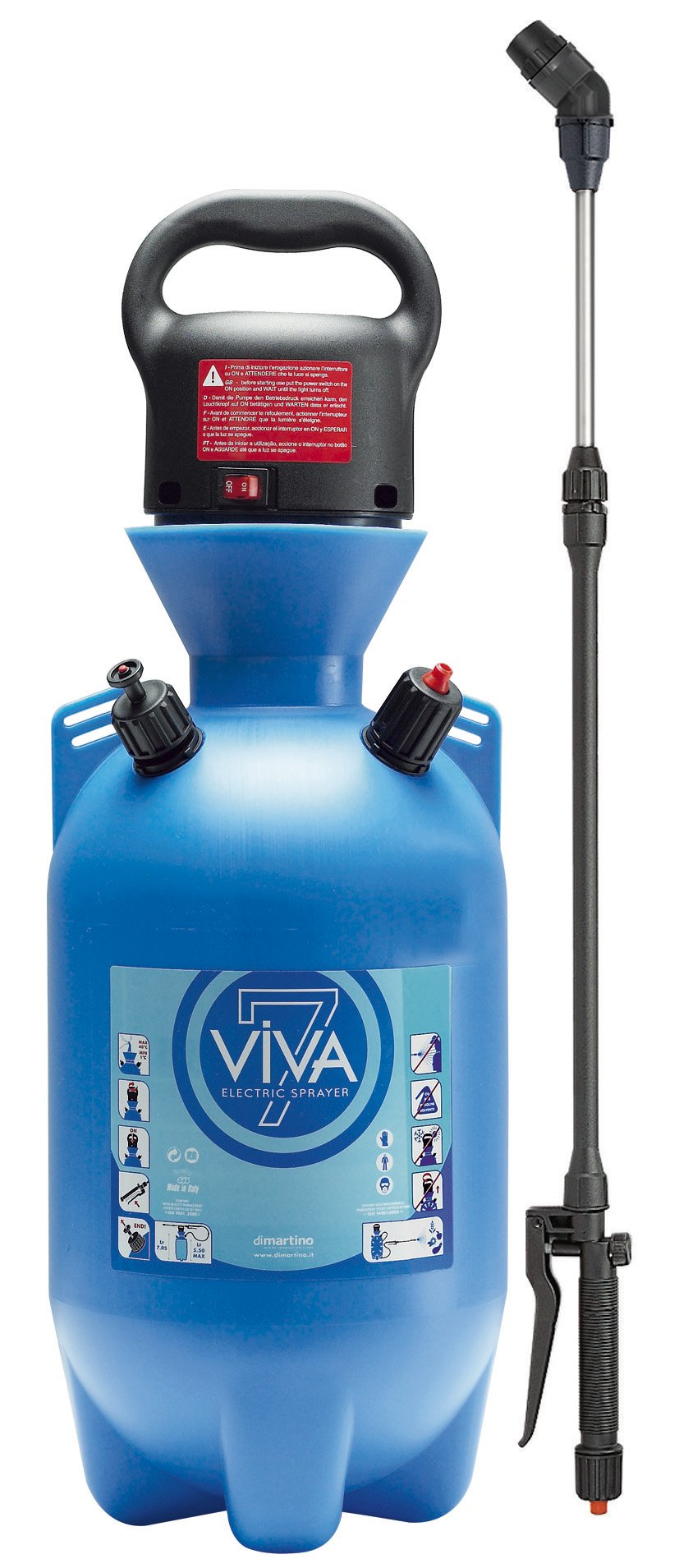 Drukspuit Viva electric 7 ltr.