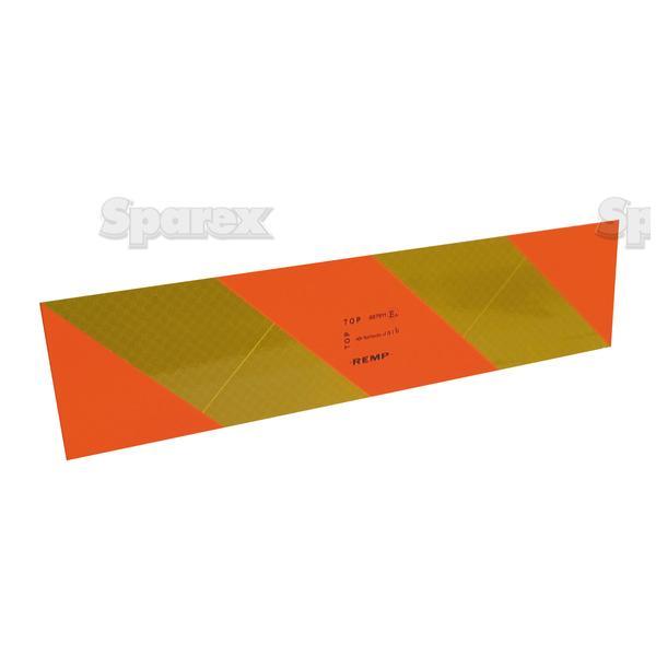 REFLECTOR PANEL-STRIPESx2