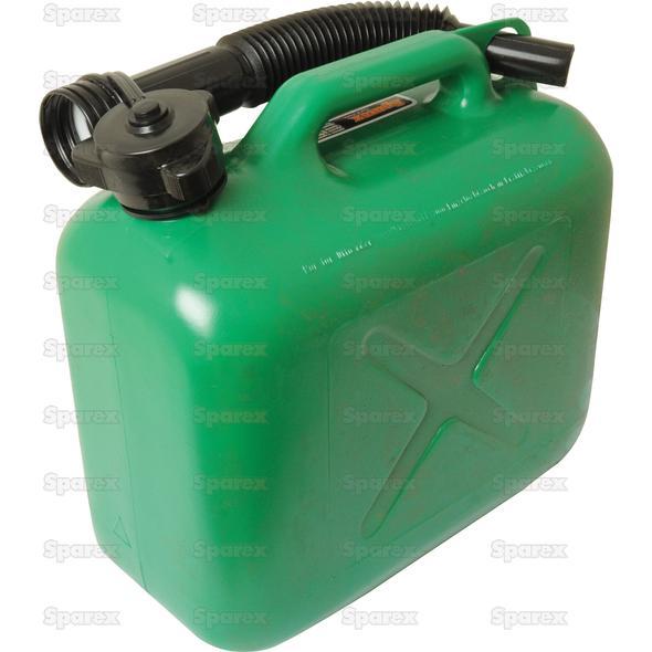 JERRY CAN PlASTIC GROEN-5l