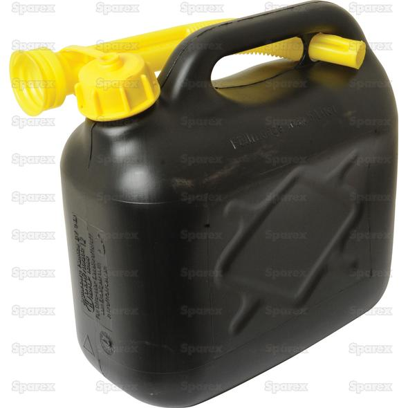 JERRY CAN PlASTIC ZWART-5l