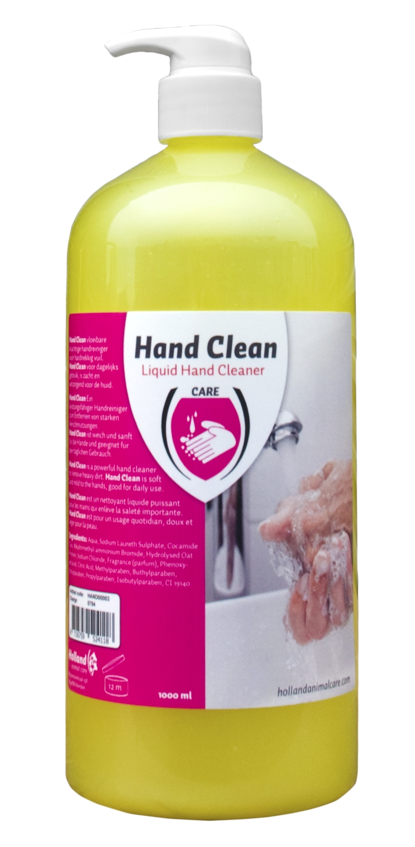 Hand Clean with pump