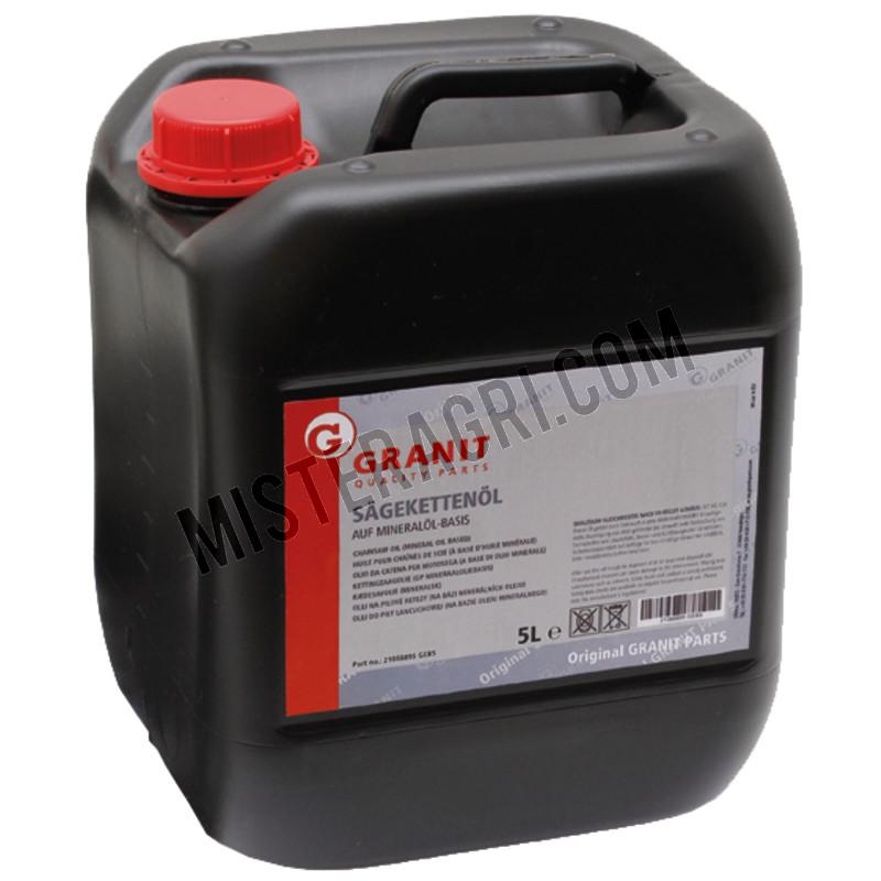 Minerale kettingzaagolie 5 liter
