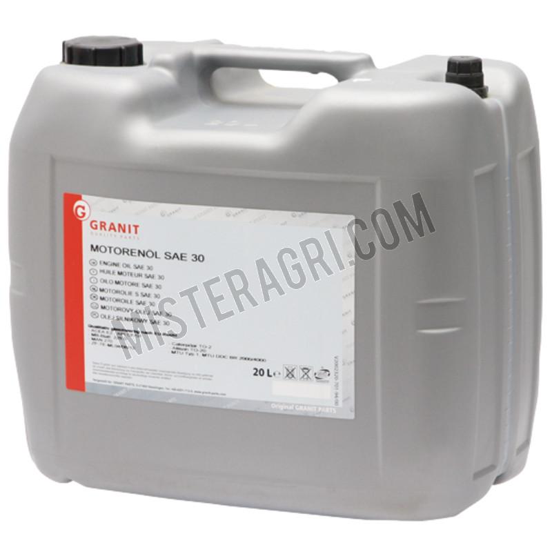 Motorolie - motorolie SAE 30 20 liter