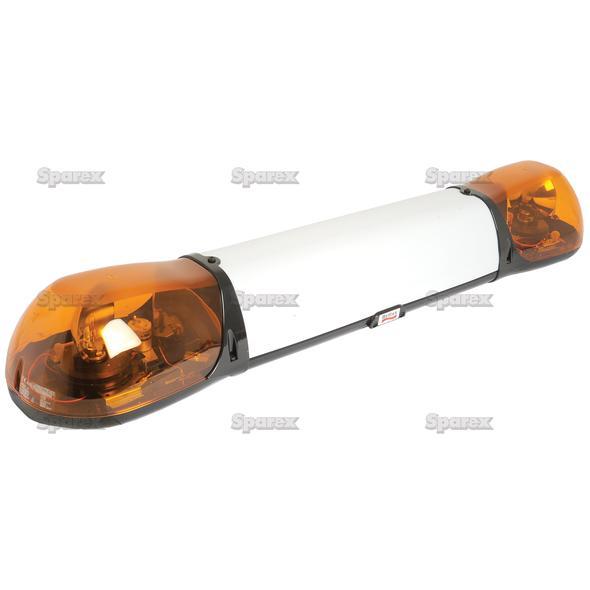 Zwaailichtbalk - Halogen - Bolt On, Lengte: 1000mm, Voltage: 24V.