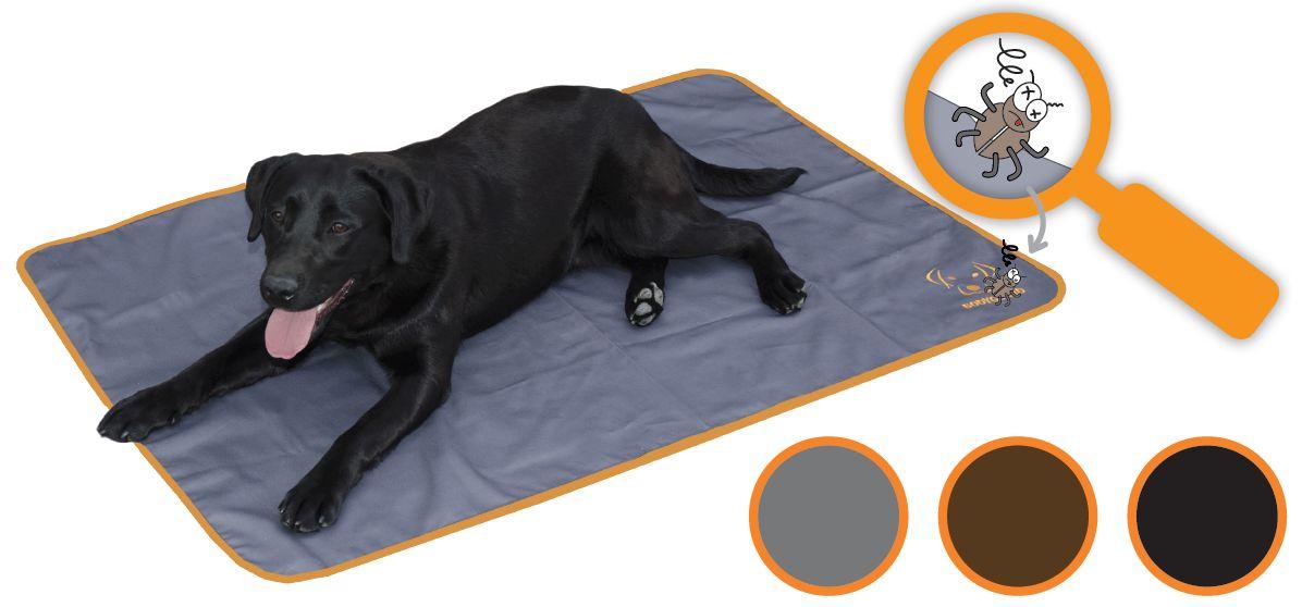 Bodyguard Dog Blanket Grijs 120x80cm