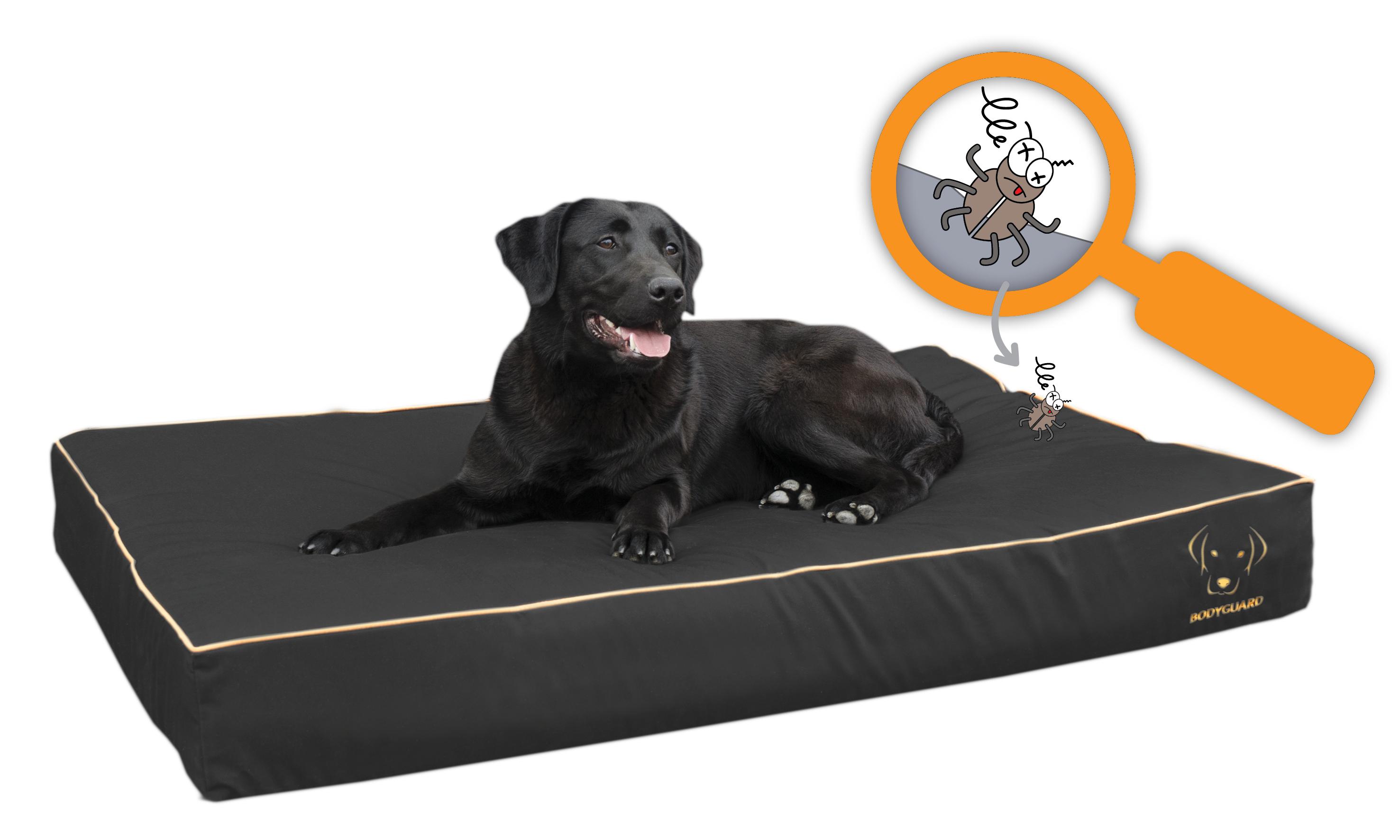 Bodyguard ROYAL bed Zwart 65x50cm