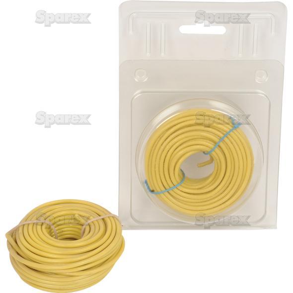 Elektrische kabel 1x2mm GEEL 10m AGRIPAK