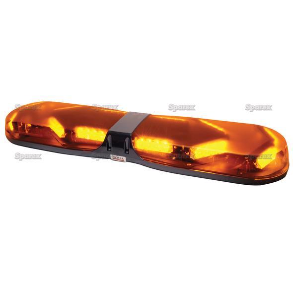 Zwaailichtbalk - LED - Bolt On, Lengte: 770mm, Voltage: 12/24V.