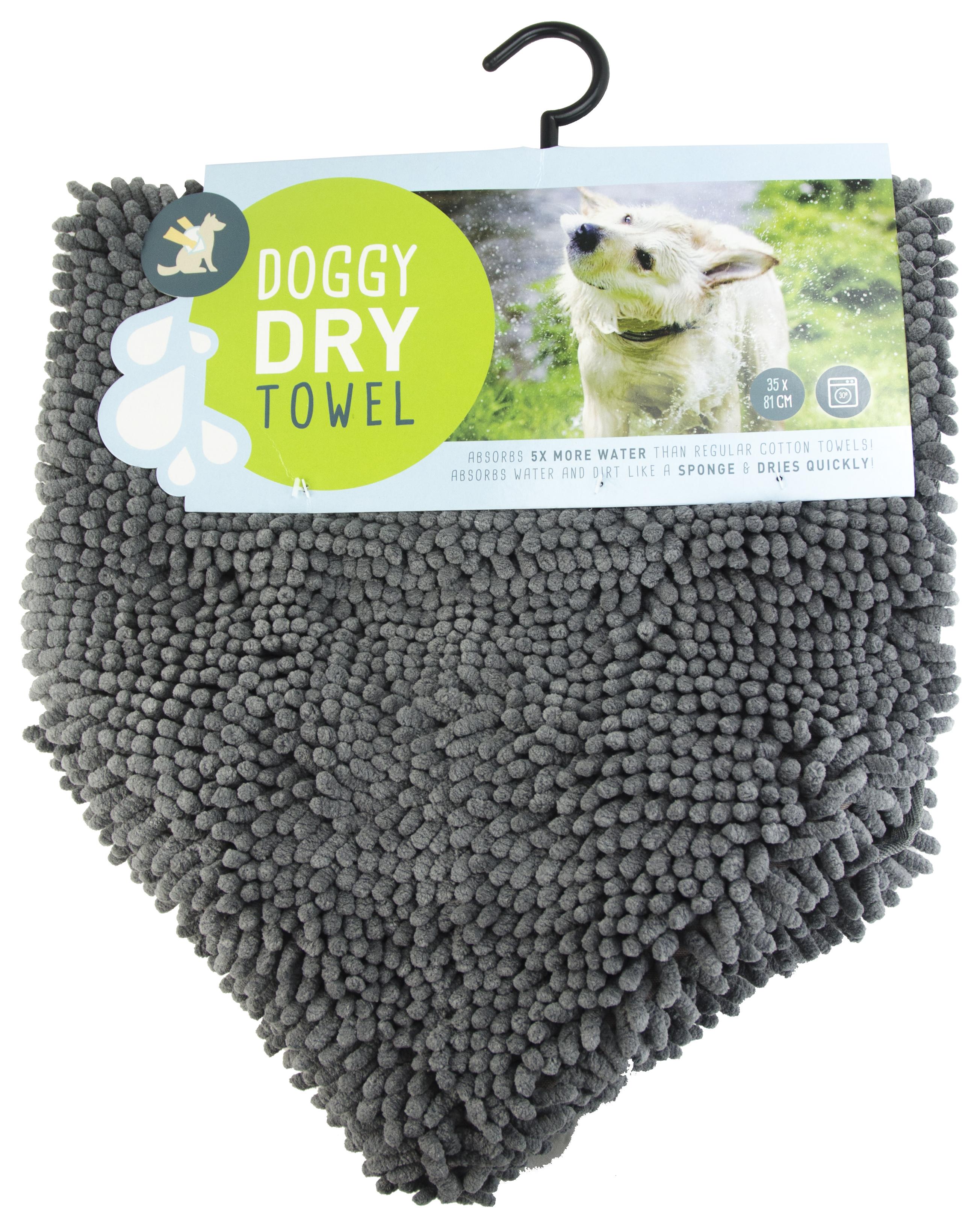 Doggy Dry Pet Towel 81x35cm