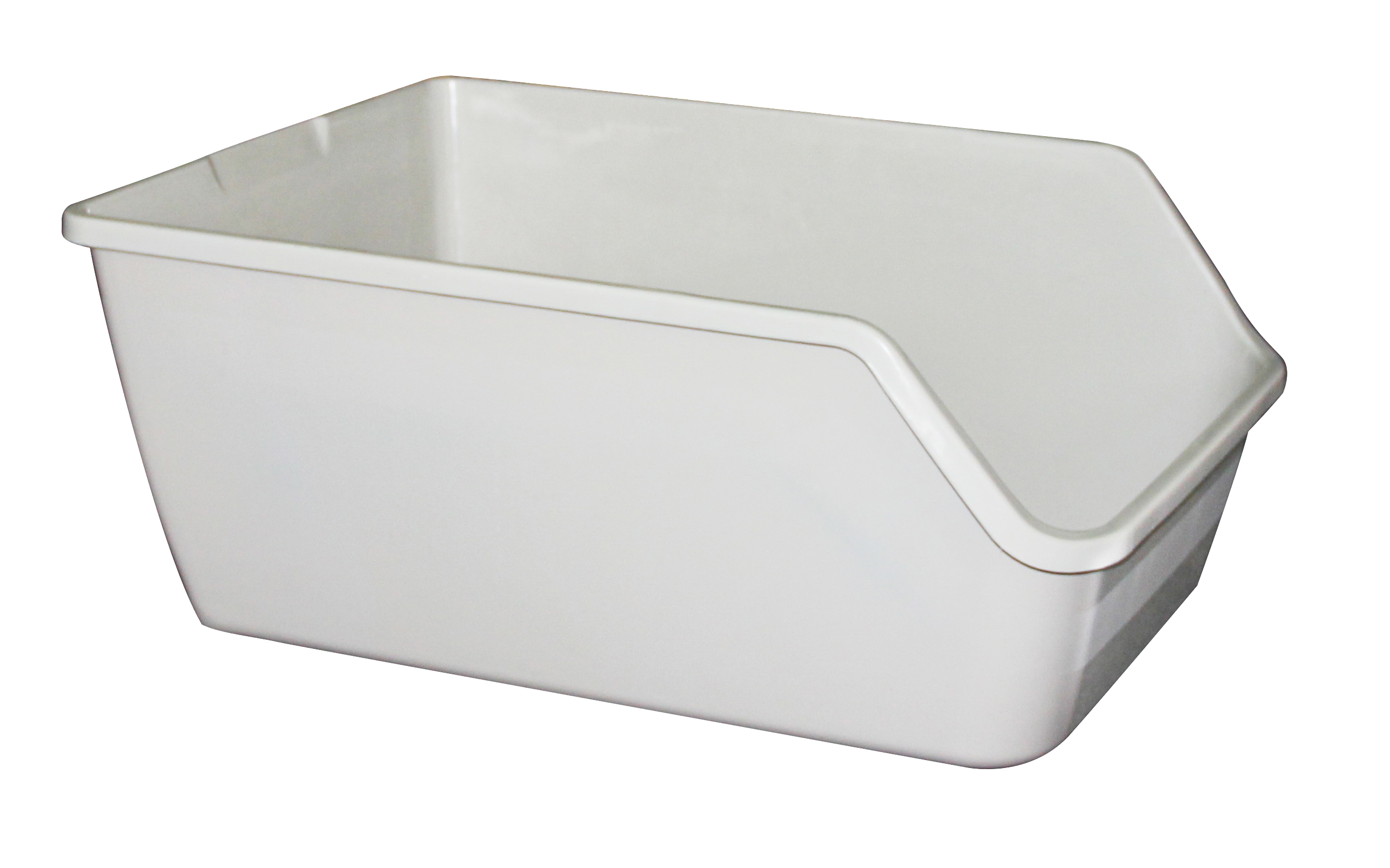 High-back Litter pan 61x45x25cm