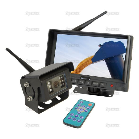 Draadloze achteruitrij camera systeem met 7'' LCD monitor & 1 camera