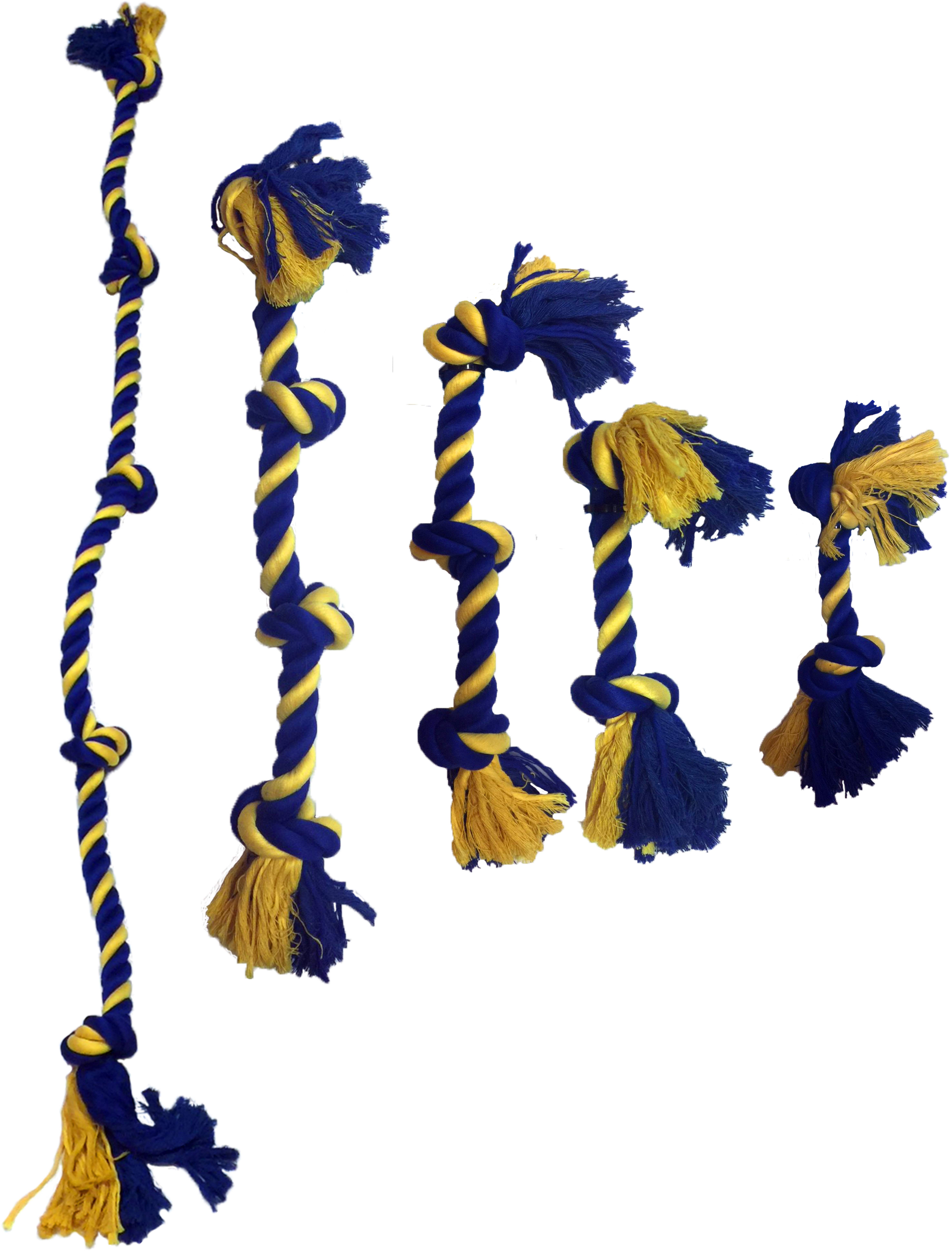 2-Knot Cotton Rope 22 cm