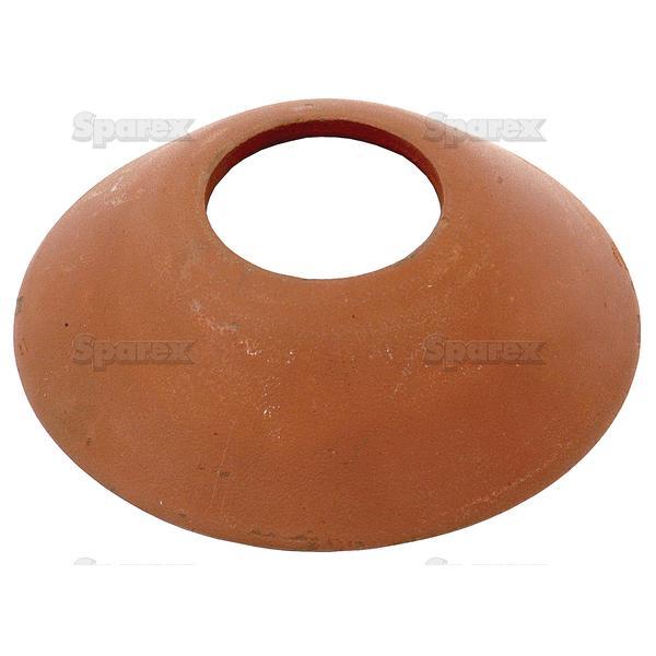 Cup voor koppelingsas, ID: (A) 45mm, OD: (B) 125mm.