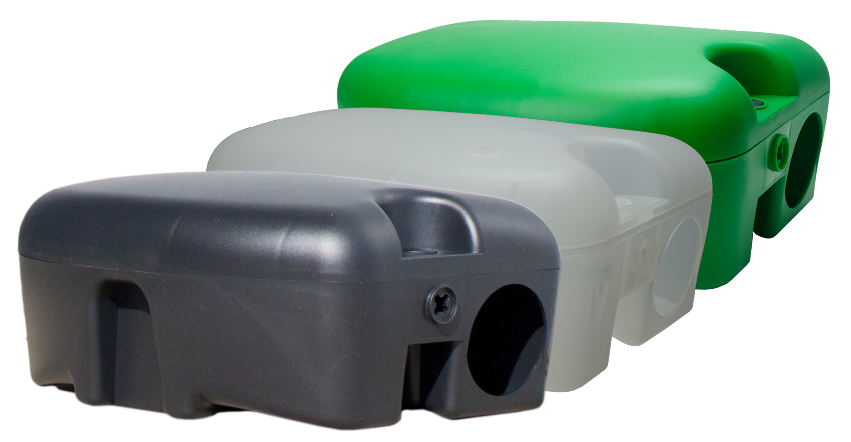 Voerdoos Atlantis rat/muis Groen met sleutel