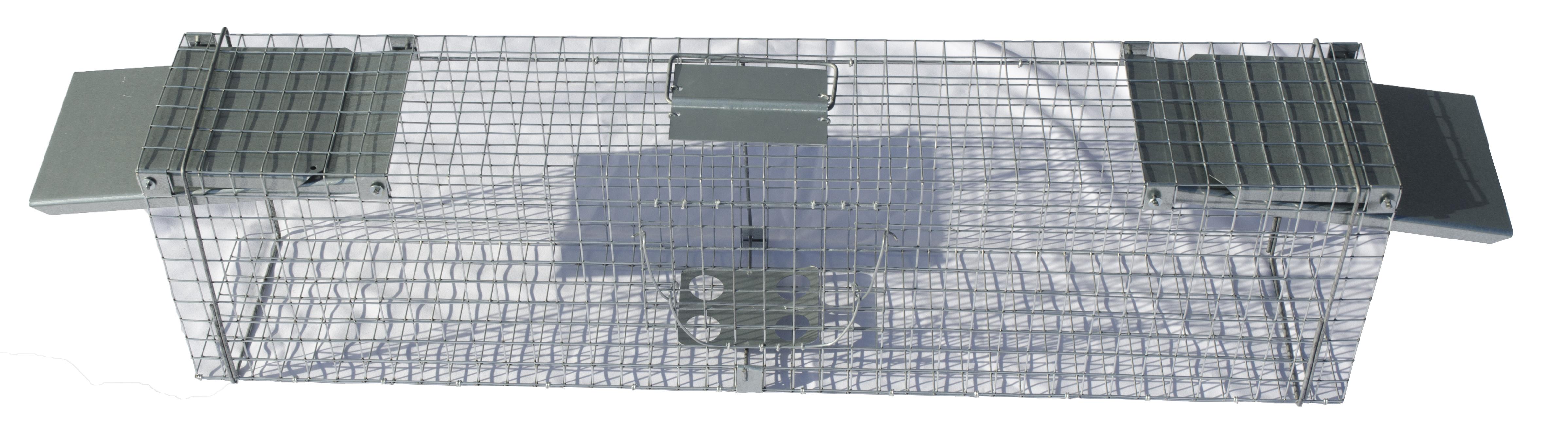 Doorloopval rat, marter, bunzing, kat 102x20x27cm