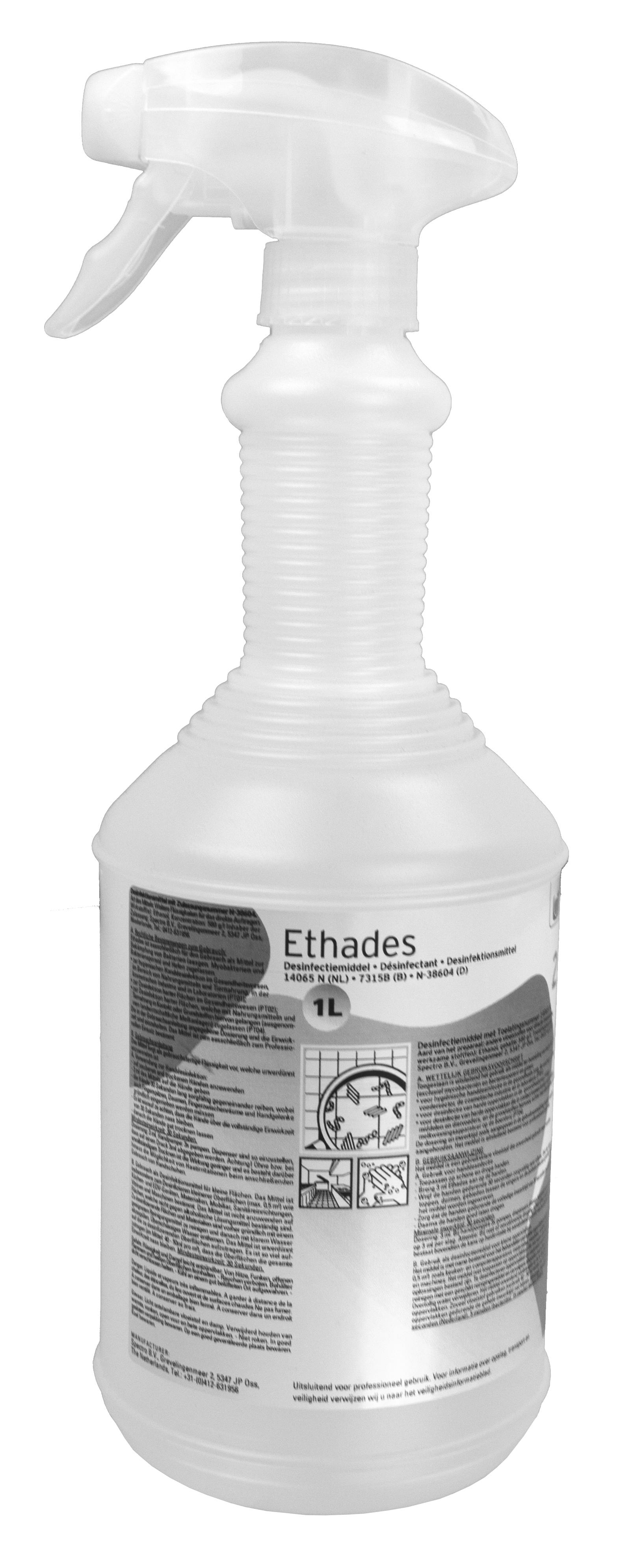 Ethades desinfectant spray
