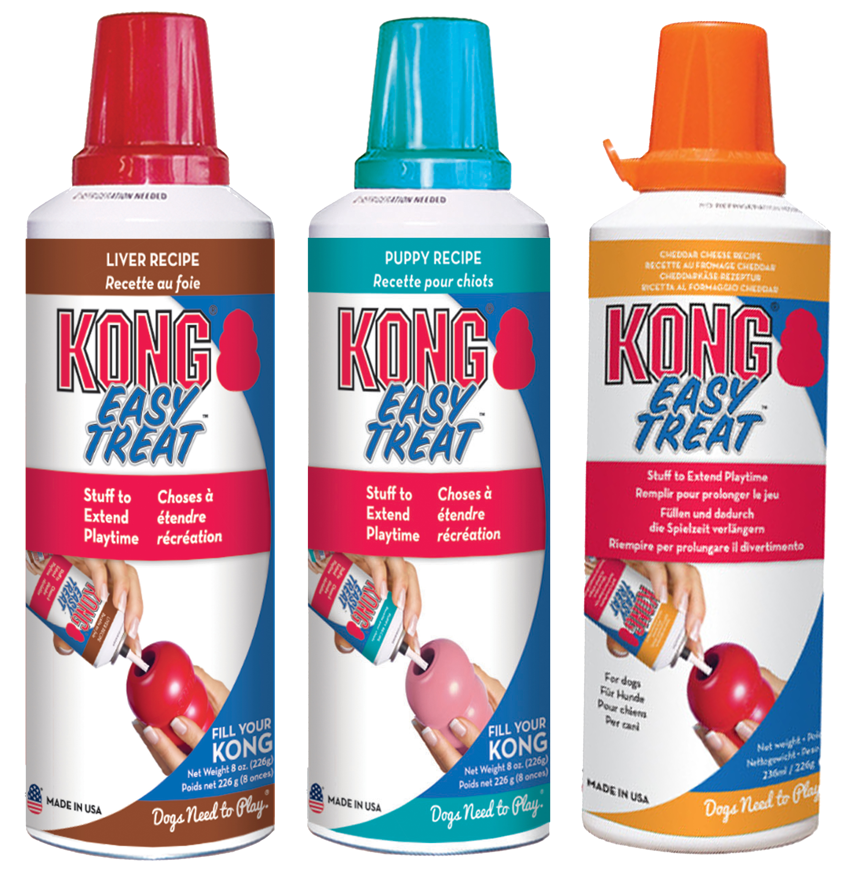 Kong Easy Treat Chedder Cheese