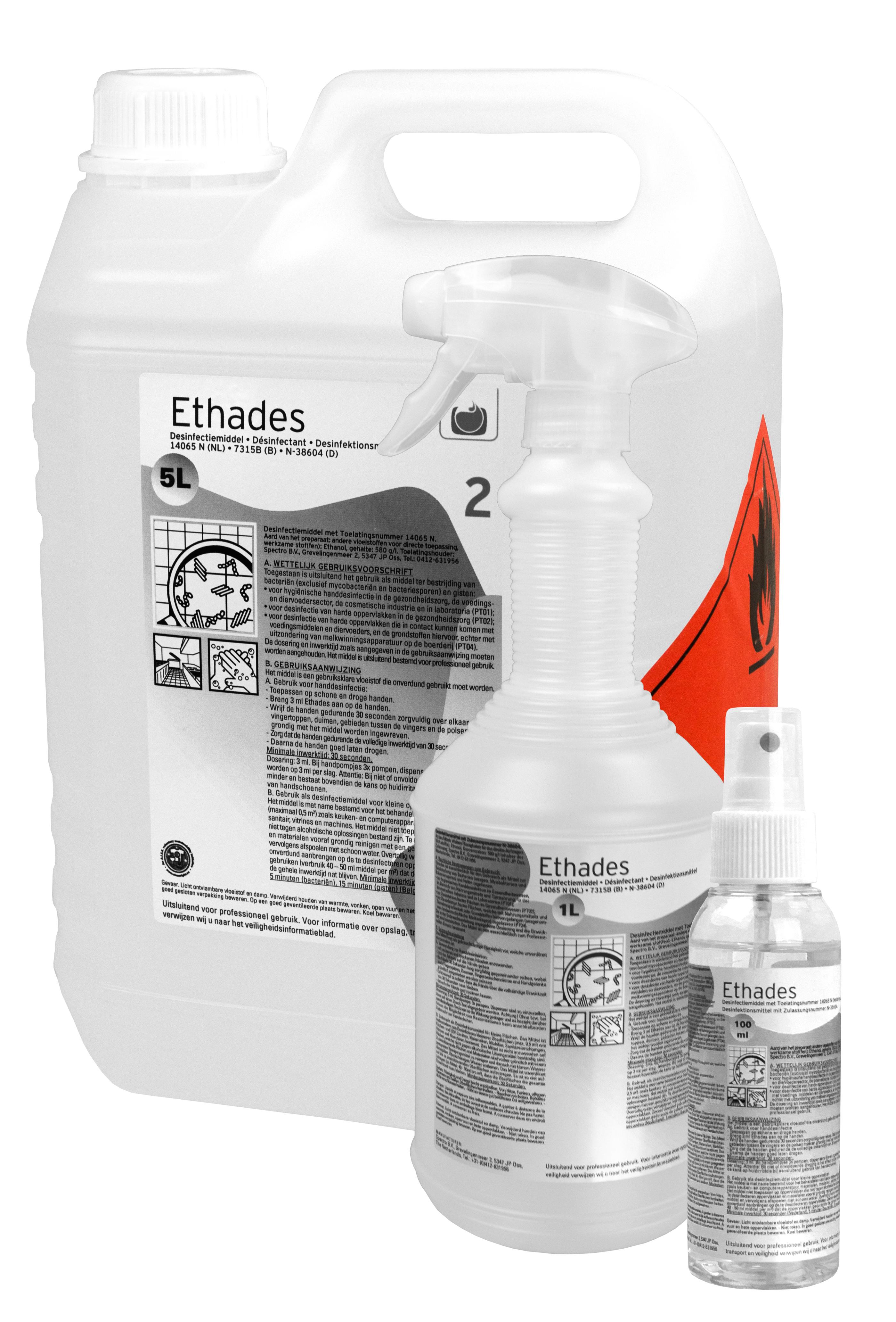 Ethades desinfectant 5 liter