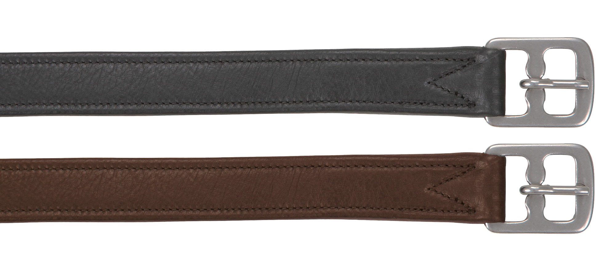 Stijgbeugelriem soft de luxe 25mm x 150cm bruin