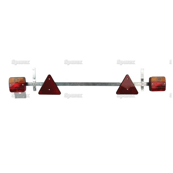 Telescopic Lighting Bar, Lengte: 0.9 - 1.6M, Kabellengte: 7M.