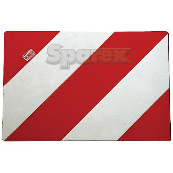 Gevaar bord LH/RH 423x282 (2 platen)