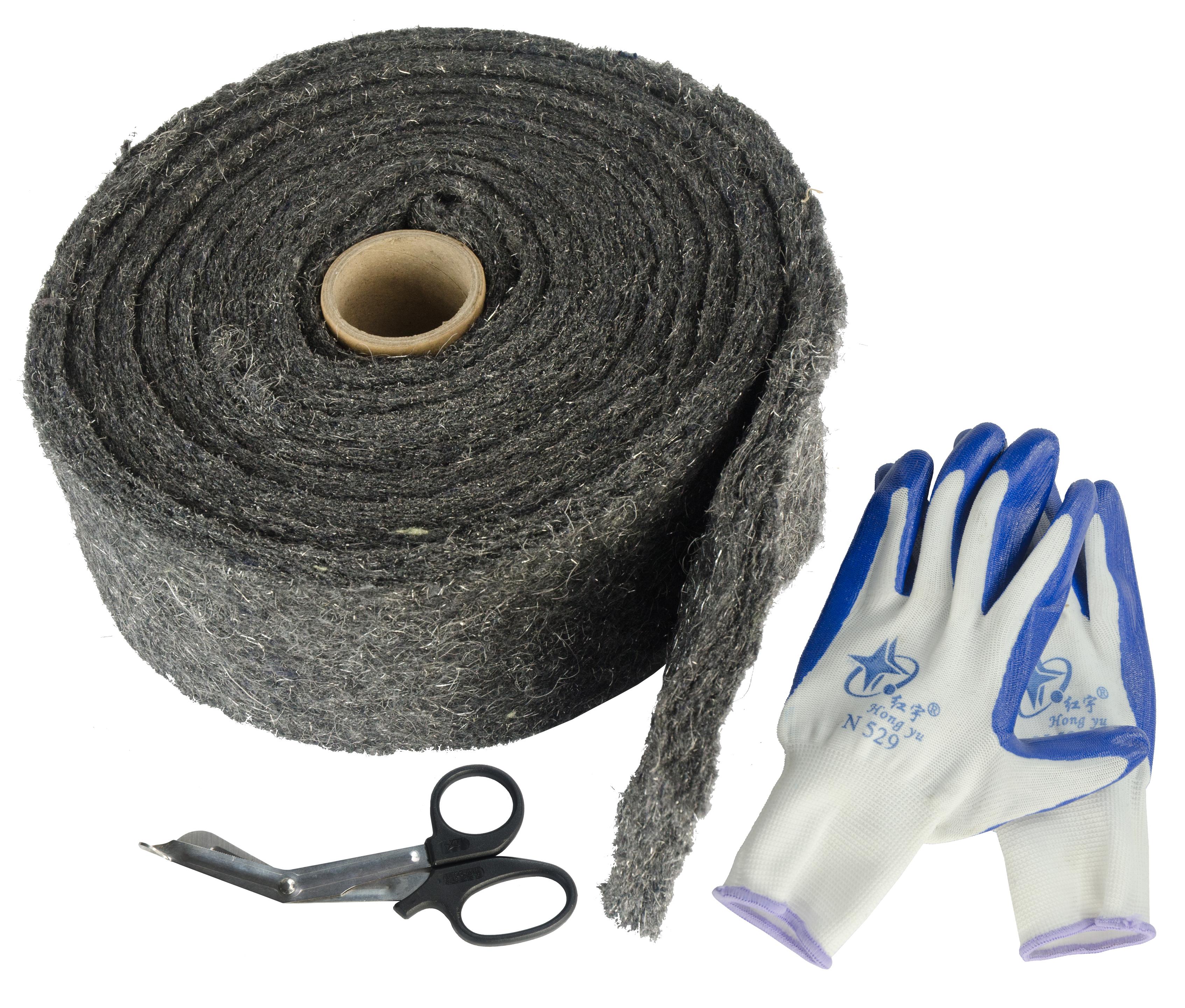 Knock Off Weringsband 5 meter (incl. schaar+handschoenen)