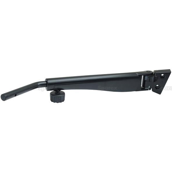 Adjustable Spiegelarm, 650 - 925mm, Links