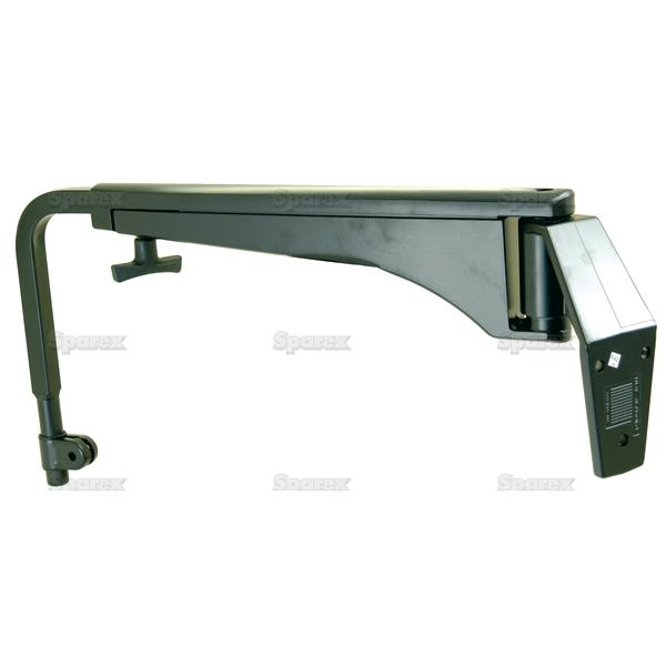 Adjustable Spiegelarm, 530 - 820mm, Rechts en Links