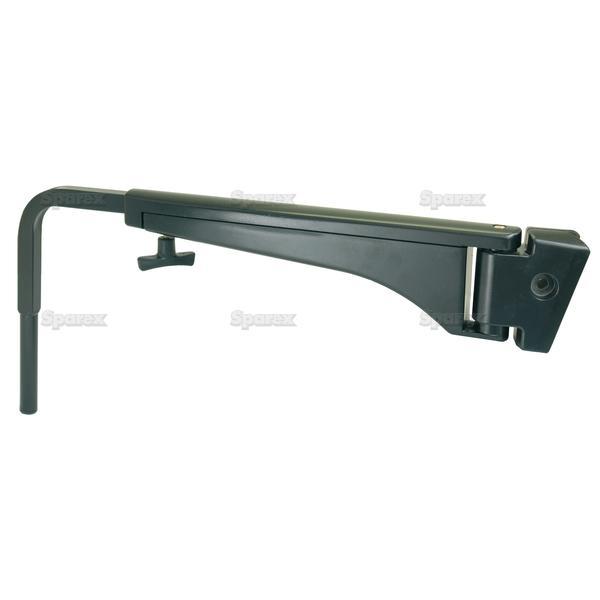 Adjustable Spiegelarm, 500 - 800mm, Rechts