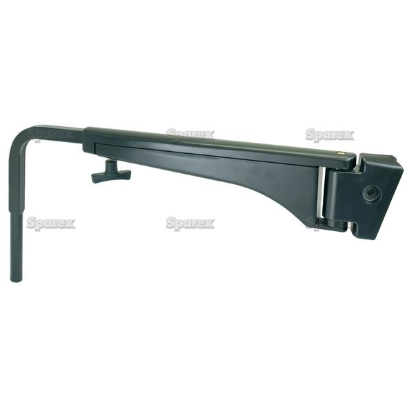 Adjustable Spiegelarm, 500 - 800mm, Links
