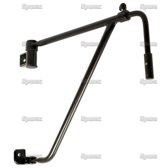 Adjustable Spiegelarm, 275 - 425mm, Links