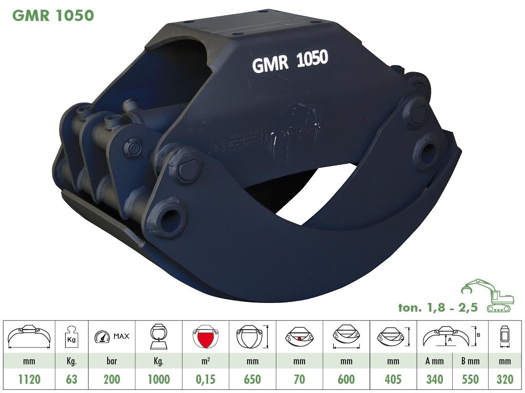 Hout klem GMR 1050