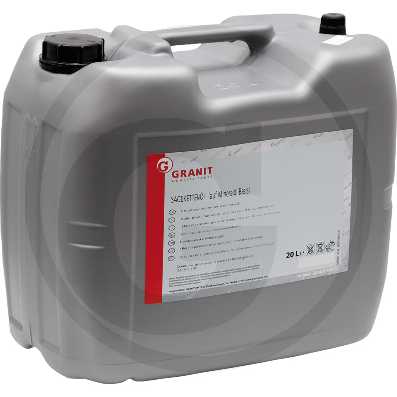 Minerale kettingzaagolie 20 liter
