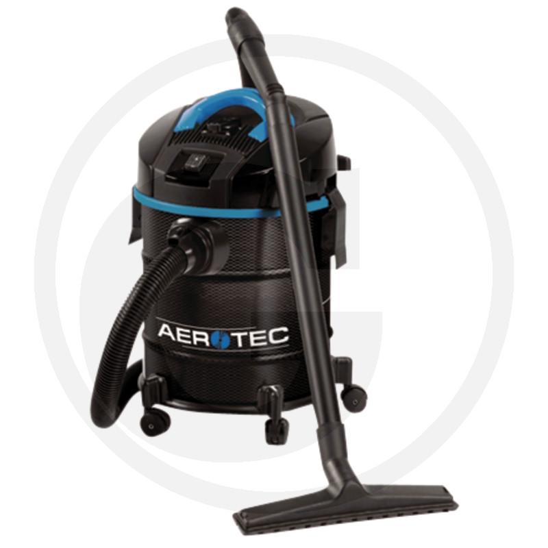 AEROTEC Industriële stofzuiger AES 30 Carbon met stekkerdoos