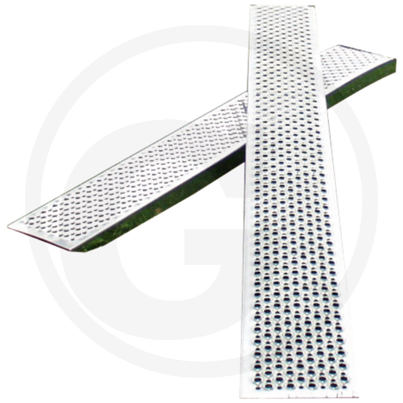 Aluminium oprijplaten