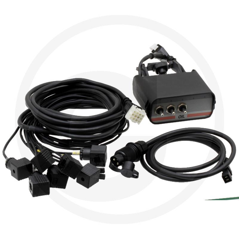 3-knops Cetop bedieningskast met kabel