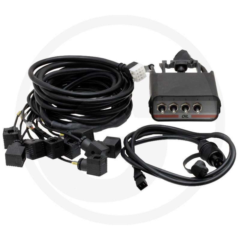 4-knops Cetop bedieningskast met kabel