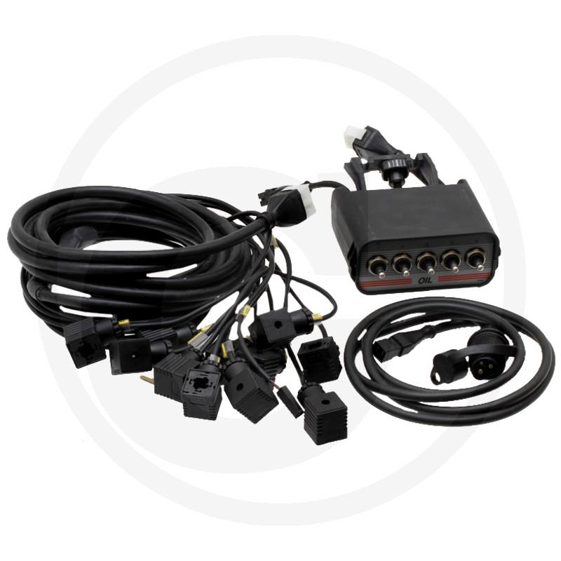 5-knops Cetop bedieningskast met kabel
