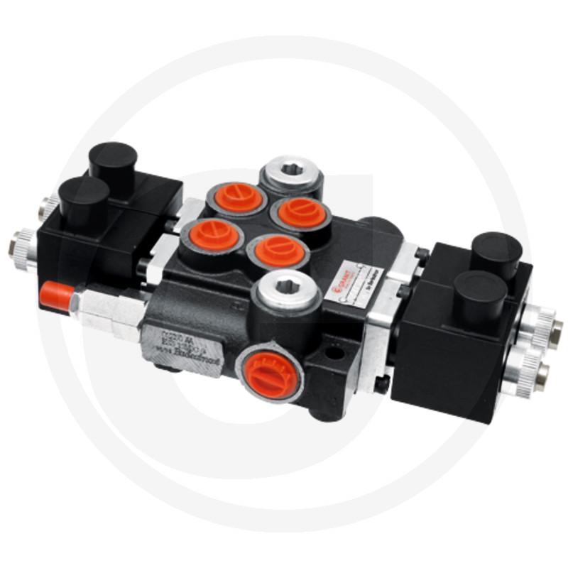 Elektrisch stuurventiel 12V 2x DW (A-B gesloten)