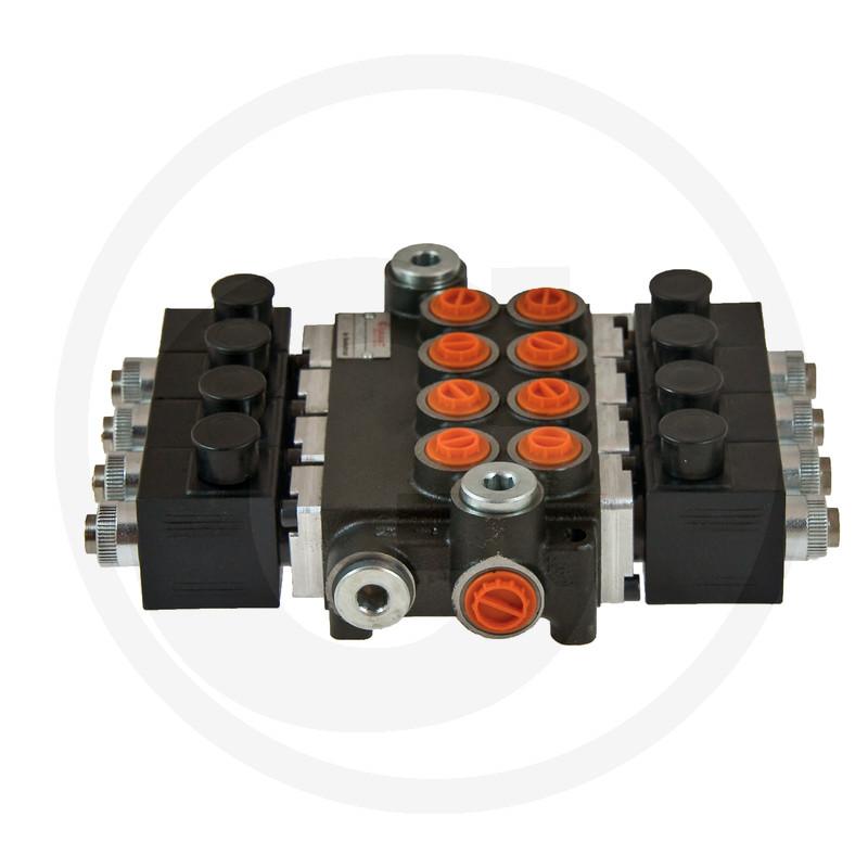 Elektrisch stuurventiel 12V 4x DW (A-B gesloten)