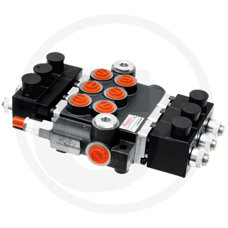 Elektrisch stuurventiel 12V 3x DW (A-B gesloten)