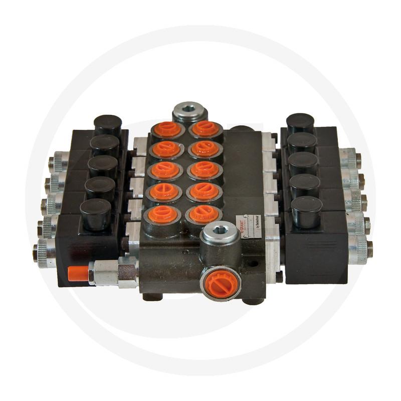 Elektrisch stuurventiel 12V 5x DW (A-B gesloten)